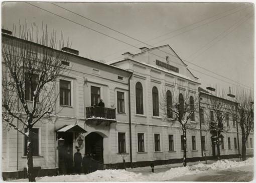 Budynek Sądu Okręgowego w Suwałkach około 1930 r. Fot. Karol Jaroszyński