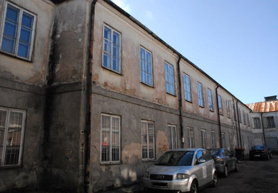Południowa część budynku przed adaptacją