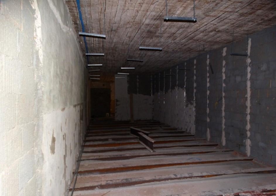 Wnętrze budynku Archiwum przed remontem