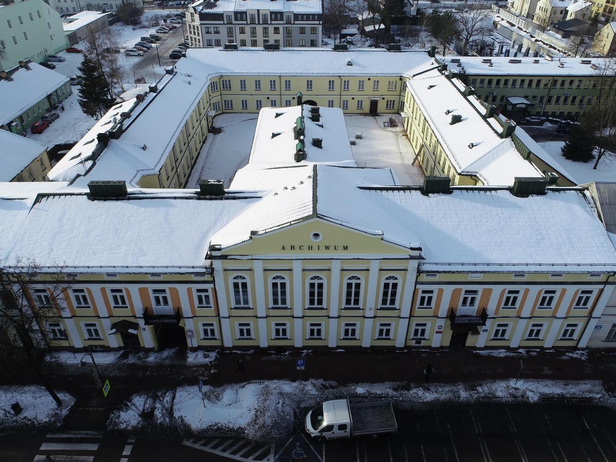 budynek Archiwum od wschodu
